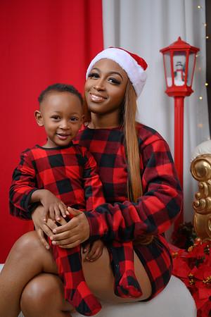 Kiara Dee and Kyland Christmas 2020