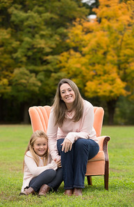 Melany & Emma Howe Mommy & Me Candid Outdoor Family Portraits- Environmental Fall Foliage New England- Stanley Park Westfield, MA- Kimberly Hatch Photography Springfield, Mass Photo Studio