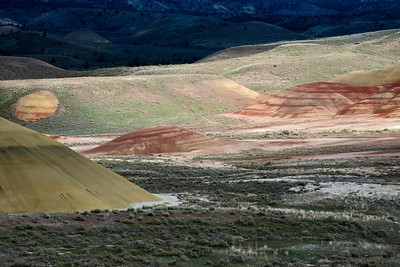 John Day Fossil Beds NM-Painted Hills Unit