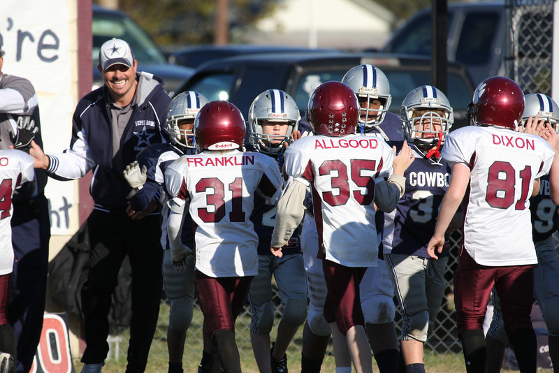 2008 Superbowl - Bulldogs vs Cowboys (Juniors) - (MYFA) Magnolia Youth Football