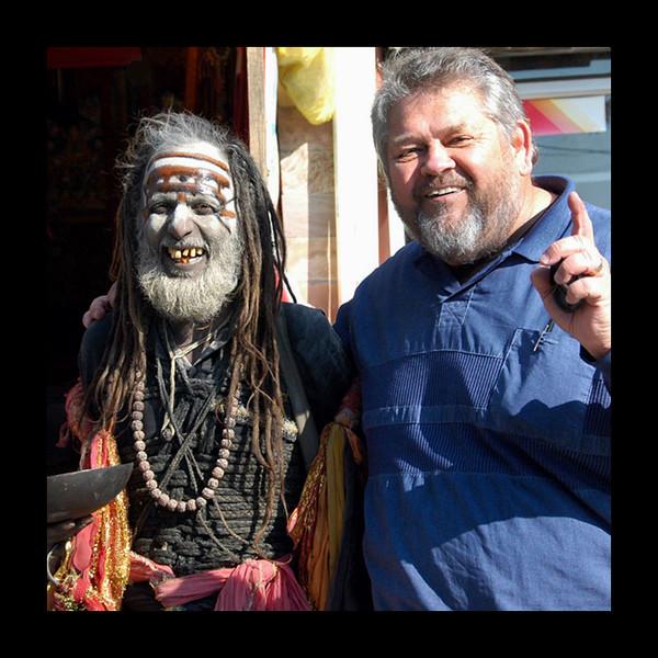 Jim and Santos in Dharmasala, India - 2008.jpg