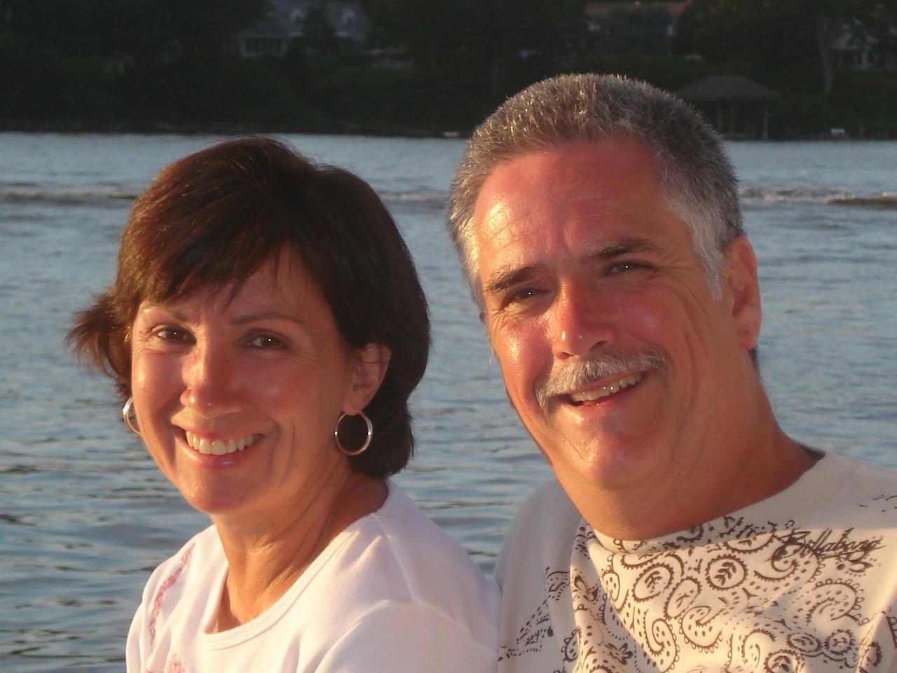 Bev & Greg - Cruising the Manasquan River, New Jersey