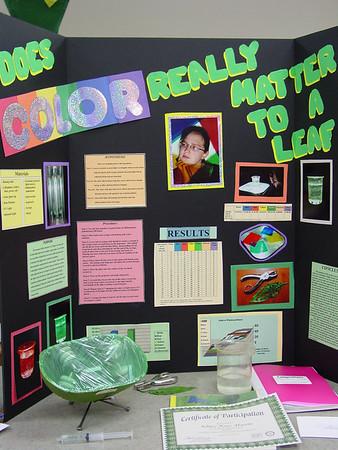 2005 2.28 Cherokee County Science Fair Ashley