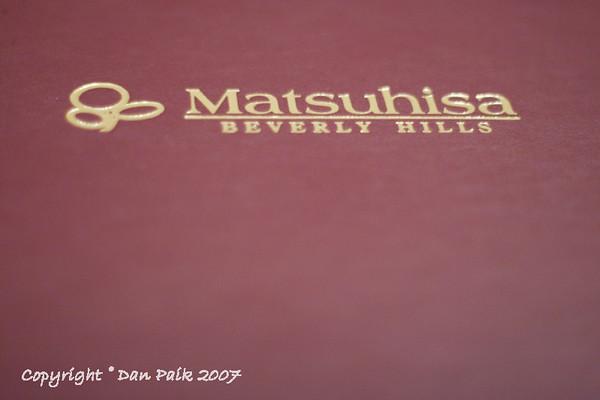 Nobu Matsuhisa - 4/22/2007