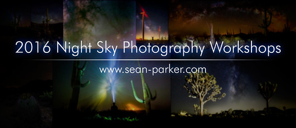 2016 Night Sky Photography Workshop Schedule