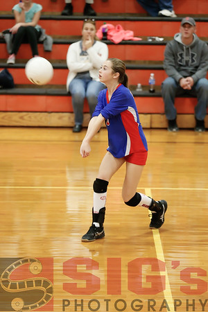 10-26-15 BMS Volleyball vs ND