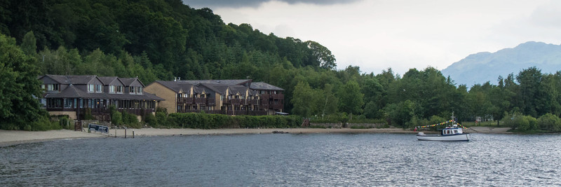We stayed at Loch Lomand Hotel, which was a bit tired