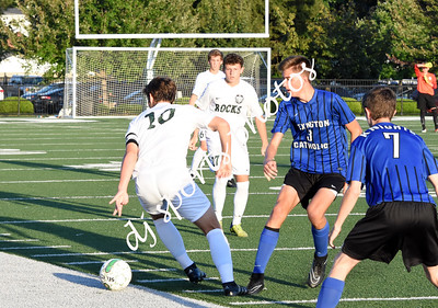 Varsity Trinity vs Lexington Catholic Boys Soccer