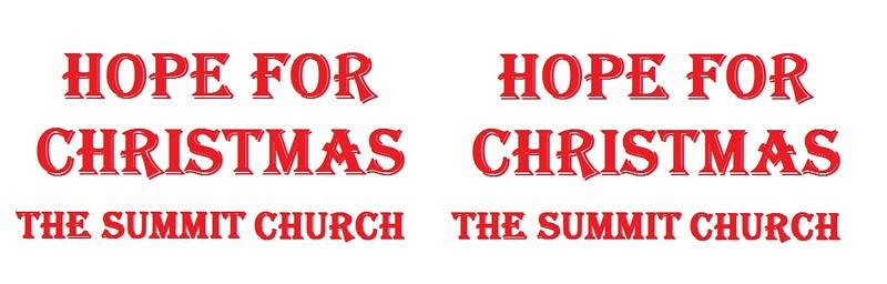 Hope for Christmas 2015