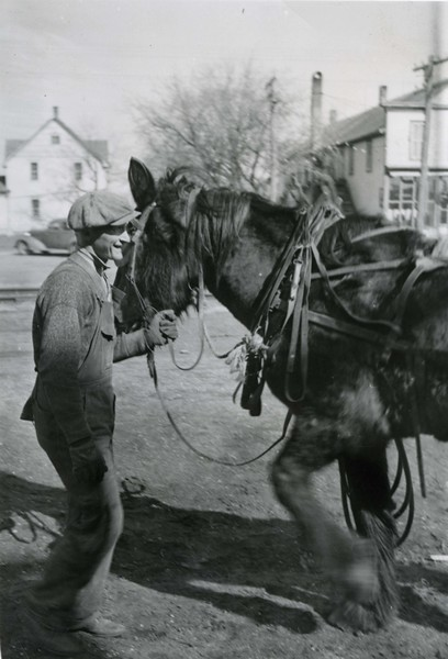 JA036.  Walt‡ with horse - 1939‡ .jpg