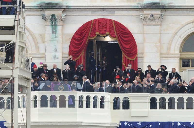 President Obama swears in on Inauguration Day