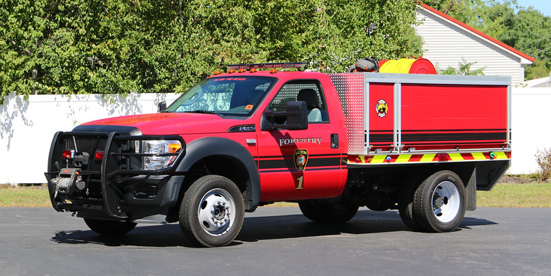 Forestry 1.  2012 Ford F-550 / Eastern Fire Apparatus.  250 / 200