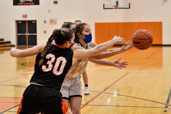 Breckenridge vs Merrill Girls District Basketball 3-26-2021
