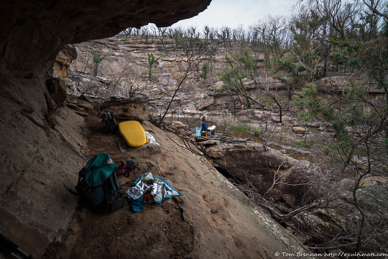 A somewhat brighter if less spacious camp cave