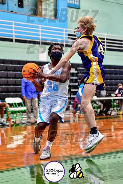 JH Rose vs DH Conley junior varsity boys basketball, January 13, 2021