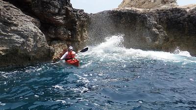British Canoeing 3 star week_Paxos May '18