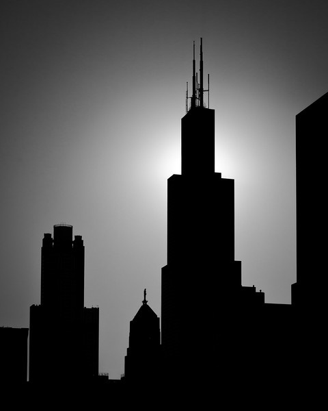 Skyline Silhouette - Chicago