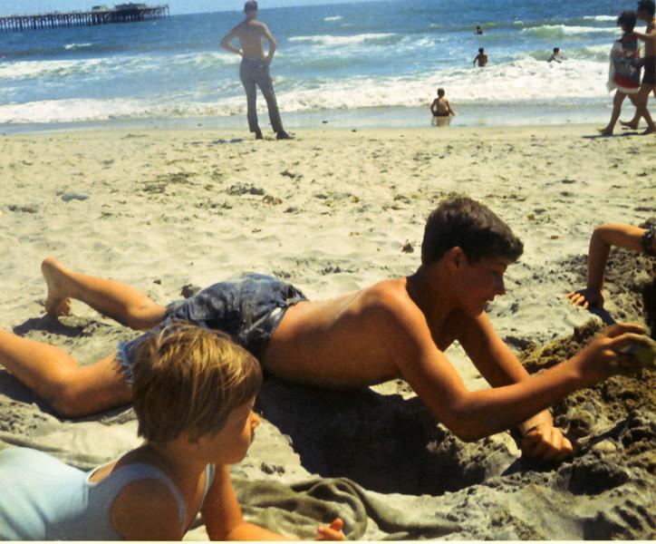Annette and Jeff Grant - Oceanside, California - 1970