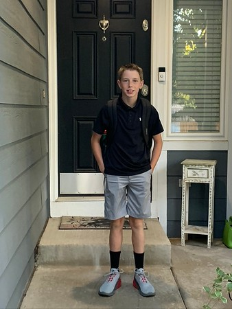 First Day of School 11/9