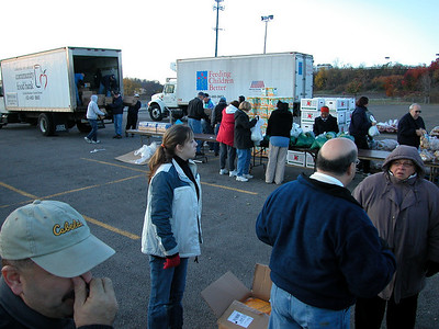 Feeding Western Pennsylvania in November 2005