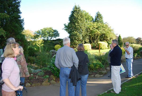 History tour with Greg Drozdz around Hollycroft park 10.10.10