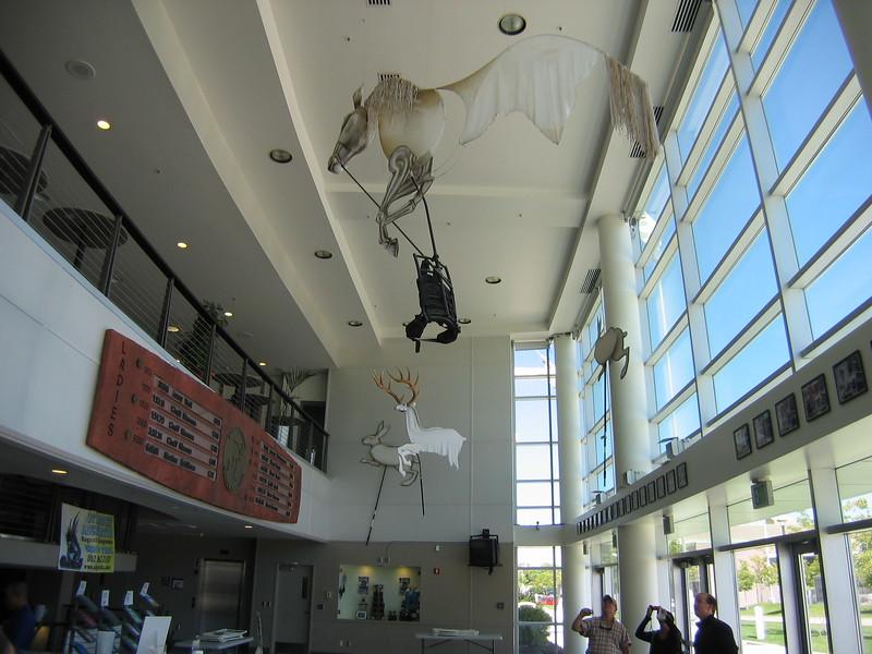 Utah Olympic Oval Lobby