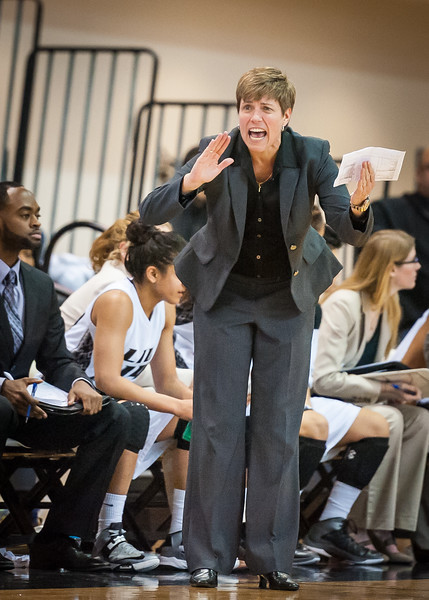 LIU Coach Gail Steigler