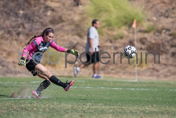 Oxy Women's Soccer vs LaVerne 10-25-14