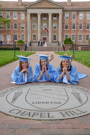 Helen, Allie, and Sarah Grad Photos