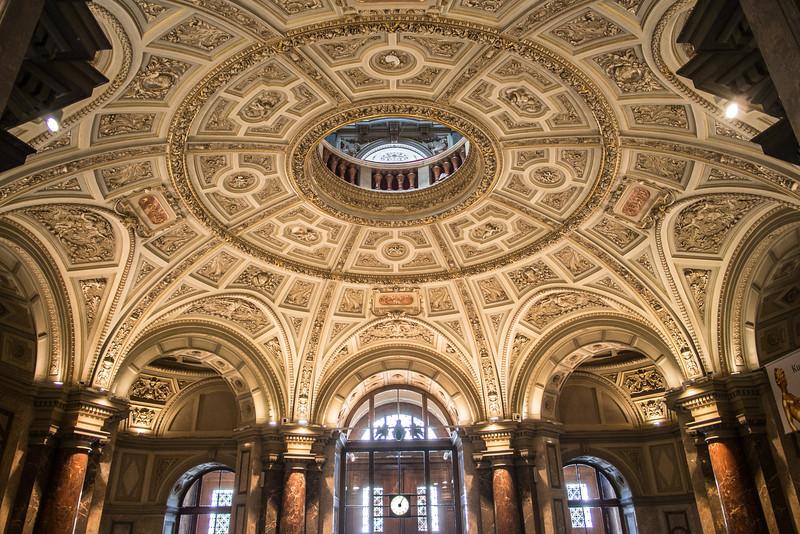 Ceiling, Kunsthistorisches Museum, Vienna