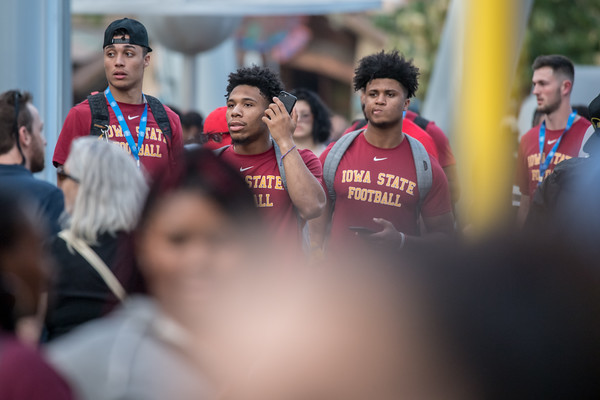 ISU FB at Universal 12/25/19