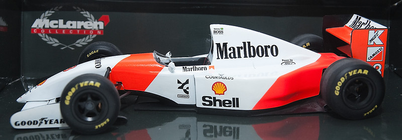 1993 #8 Mclaren Ford MP4/8 Ayrton Senna (Race Livery) SOLD 4/24/13