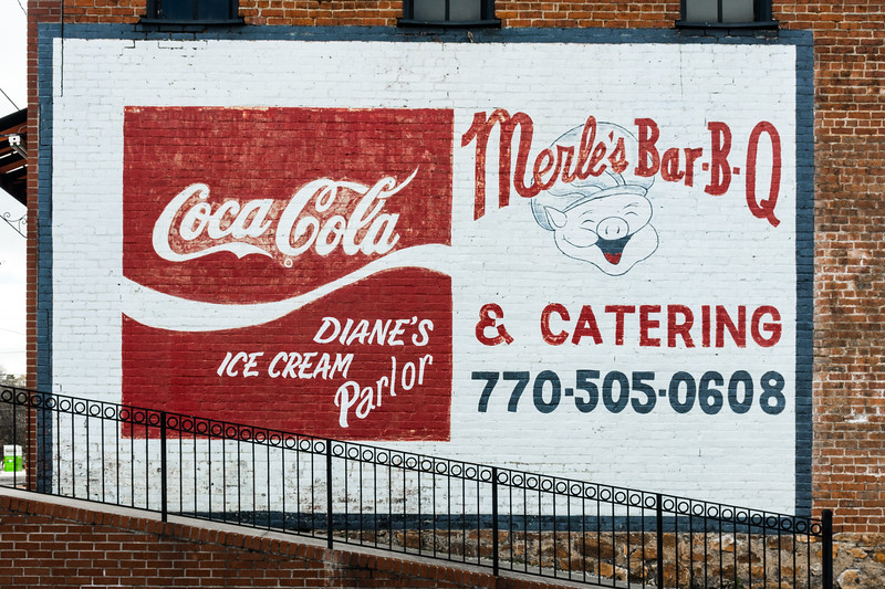 GA, Buchanan - Coca-Cola Wall Sign 02