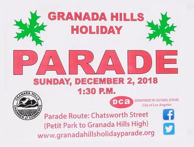 Granada Hills Holiday Parade 2018
