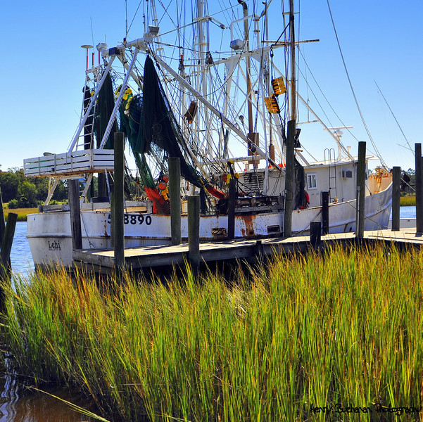 Shrimping Boat   SC Coast
