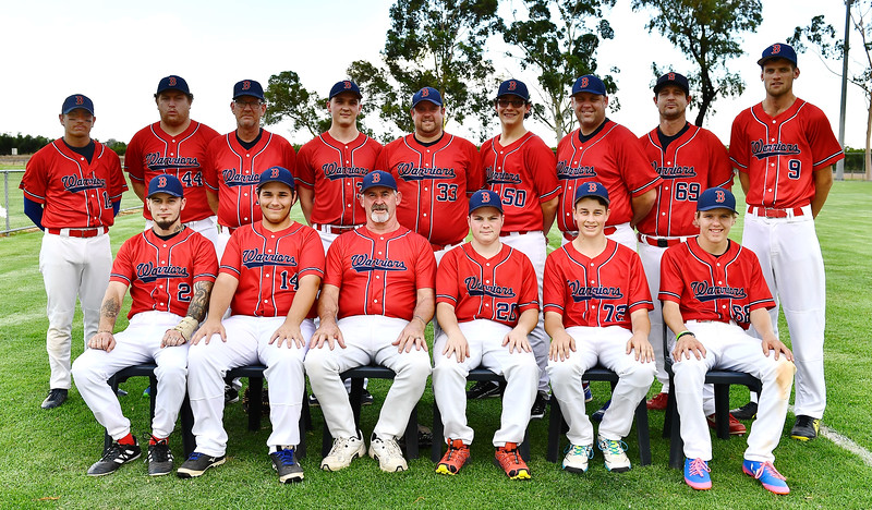 """B"" Grade SEMI FINALS Team Photos (Renmark White v Berri)"