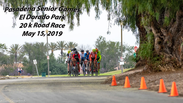 Pasadena Senior Games 20 K RR