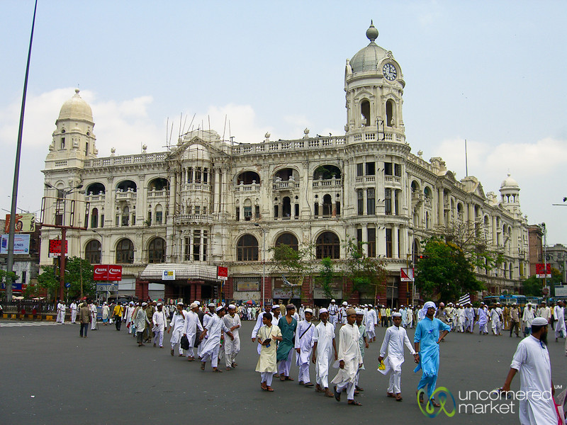 A Rally in Kolkata - India