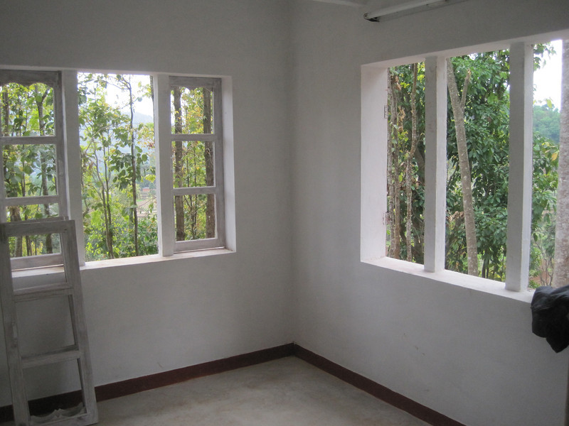 Interior of a Fuller Center home in Nepal.
