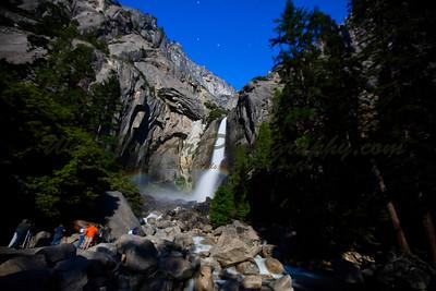 Yosemite moon bows