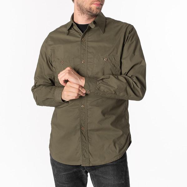 Papa Nui Tarawa Shirt - Olive--6.jpg