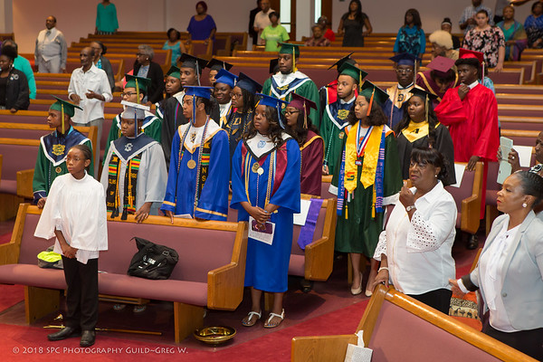 2018 Graduates Recognition Sunday