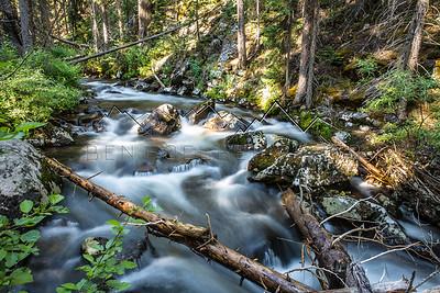 Long Exposure of East Brush Creek, CO