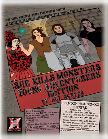 She Kills Monsters - December 2018