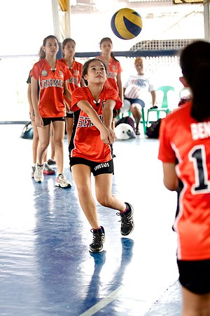 SFAMSC vs ACEM HS Girls Volleyball 2014