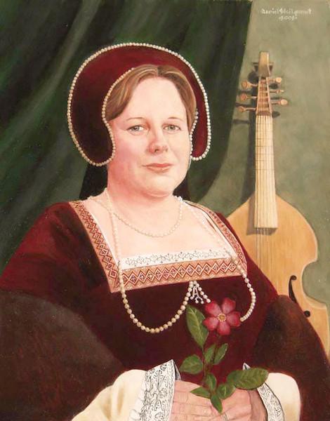 Portrait of Anne of Carthew