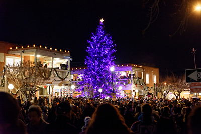 Christmas Tree Lighting - Old Town ABQ - 2018