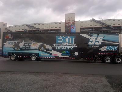 NASCAR K&N series @ Bristol 3-13-2014