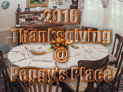 2016 Nov Thanksgiving Dinner