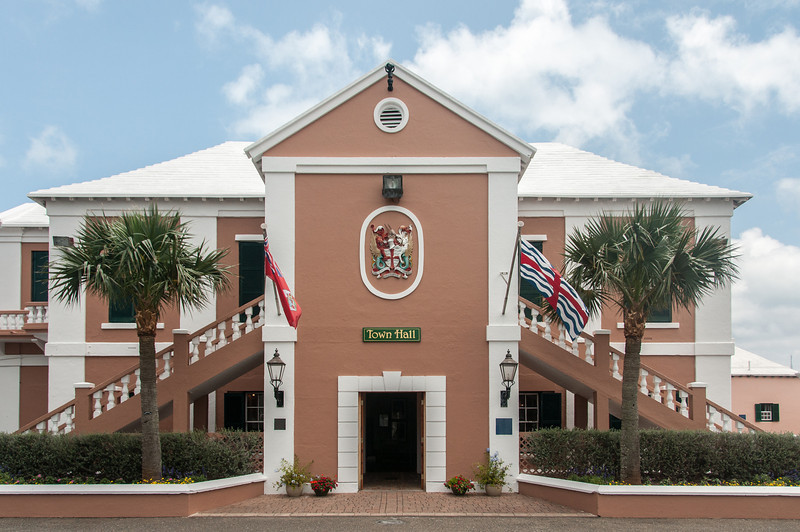 Town Hall at St. George's Island, Bermuda